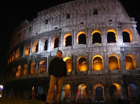 Řím, Neapol a Florencie
